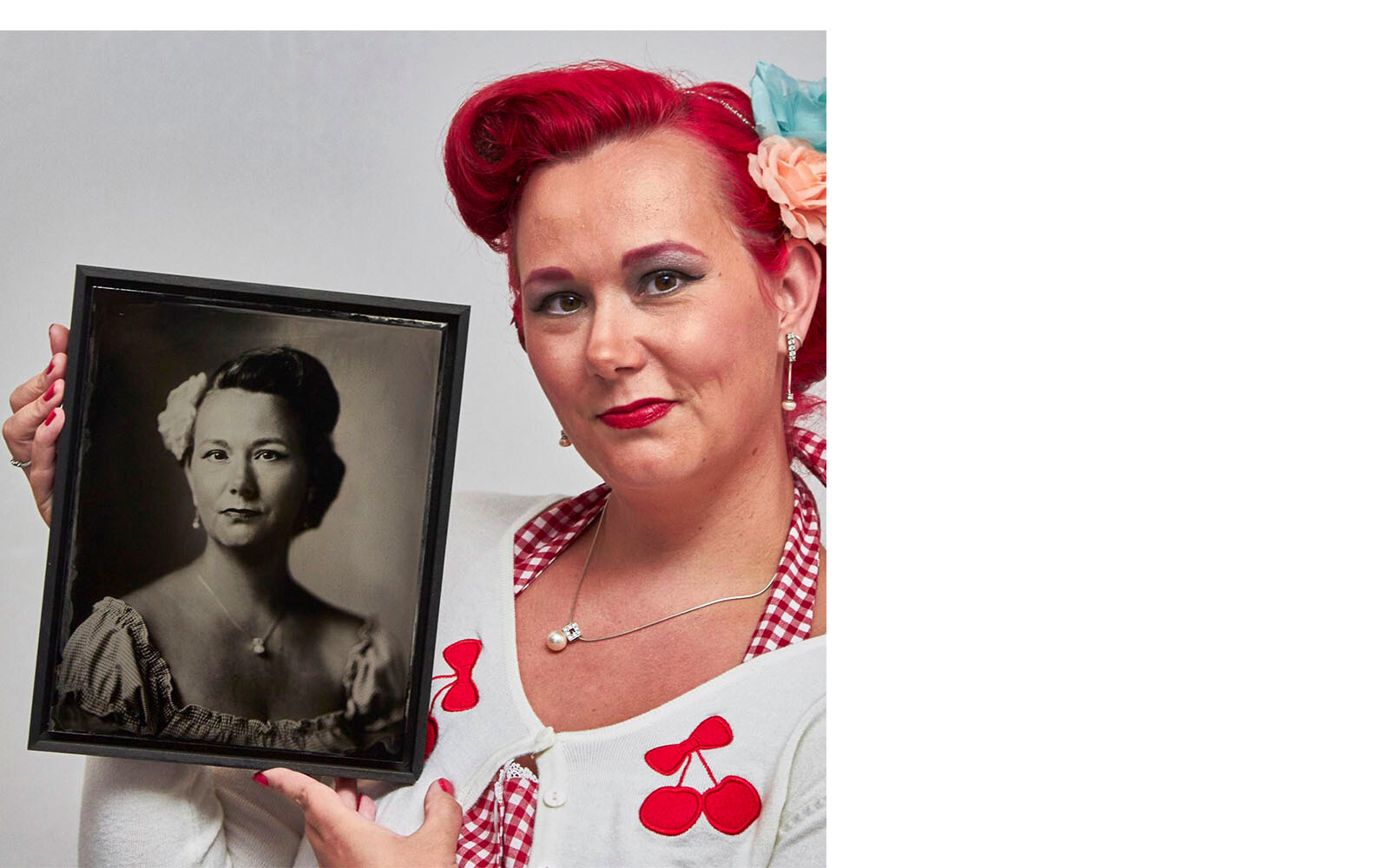 Sylvana wint de William Rutten Silver Portrait/tintype win-aktie op FB.