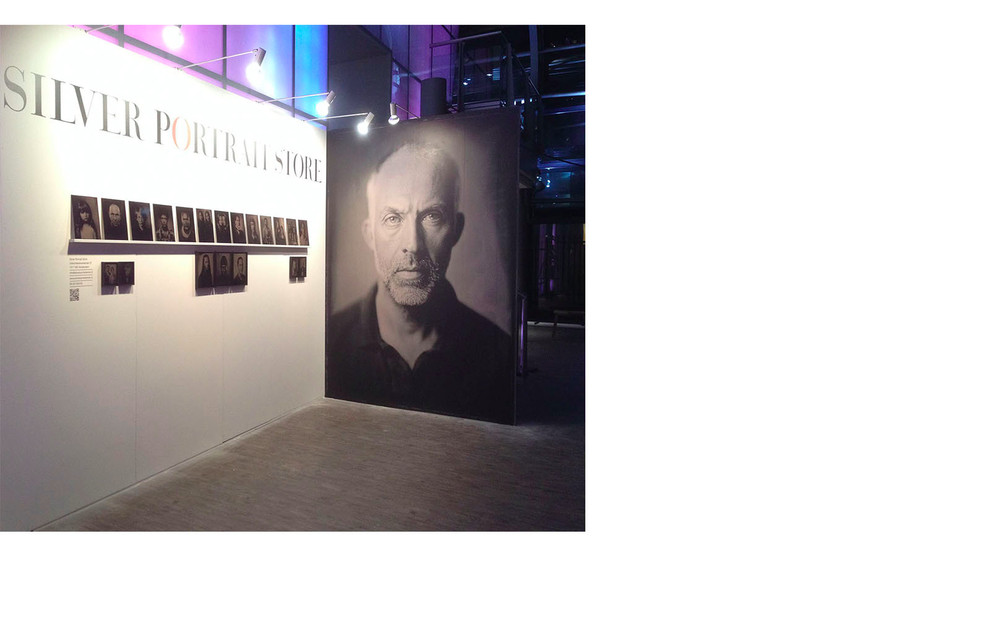 Stand Silver Portrait Store Realisme Beurs 2016